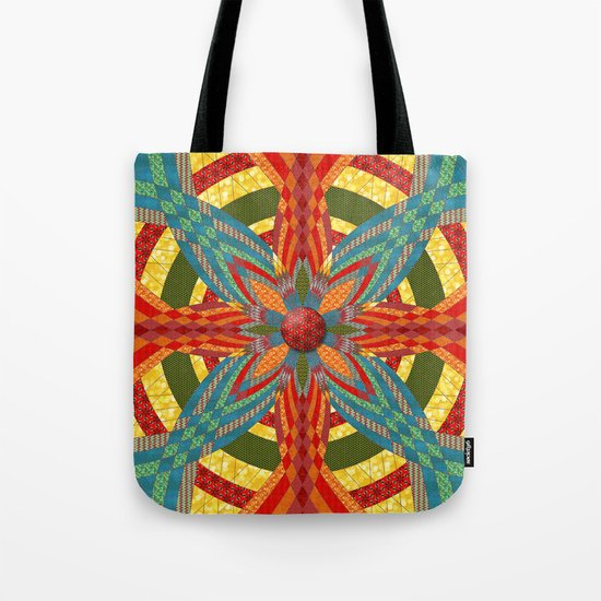 Thistle Pattern Tote Bag