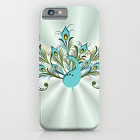 Just a Peacock iPhone 6 Slim Case