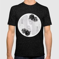 selene and eos (black and white) Mens Fitted Tee Tri-Black SMALL