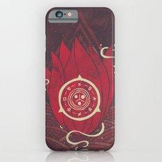 Pulsatilla Patens in Red iPhone 6s Slim Case