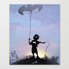 Bat Kid Canvas Print