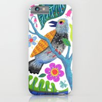 Bird Botanical iPhone 6 Slim Case