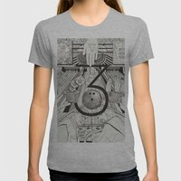 N0.3 Womens Fitted Tee Athletic Grey SMALL