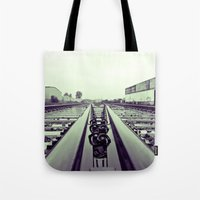 Industrial railroad Tote Bag