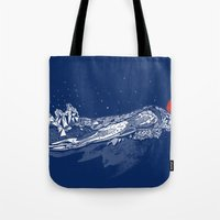 Olympic Swimmer  Tote Bag