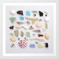 Ocean Study No. 2 Art Print