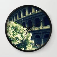 Summer In The Center Wall Clock