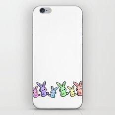 Pastel Bunnies iPhone & iPod Skin