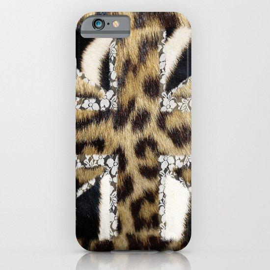 Wild | Hipster leopard Print Zebra UK Union Jack Flag  iPhone & iPod Case
