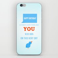 Happy birthday, Ancient One iPhone & iPod Skin