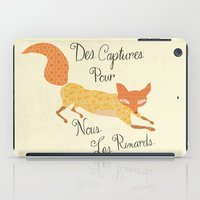Catch For Us The Foxes iPad Case