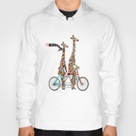 Giraffe Days Lets Tandem Hoody