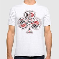 83 Drops - Clubs (Red & … Mens Fitted Tee Ash Grey SMALL