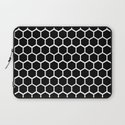 Graphic_Cells Black&White Laptop Sleeve