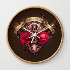 There Are Other Worlds Than These Wall Clock