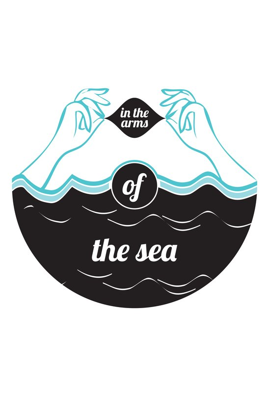 In The Arms of The Sea Art Print