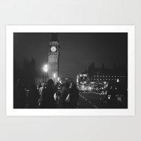London Tourist Art Print