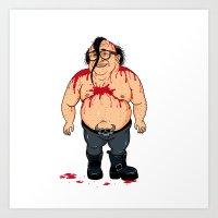Danzig Devito Art Print
