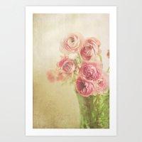 Beauty in a vase.... Art Print