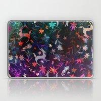 Watercolour folk otomi II Laptop & iPad Skin