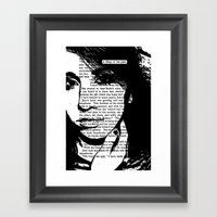 A Thing of the Past Framed Art Print