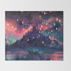 The Lights Throw Blanket