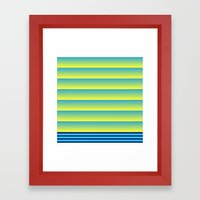 Bands Framed Art Print