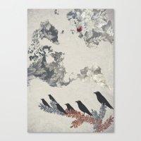 The Carrion Crow 2 Canvas Print