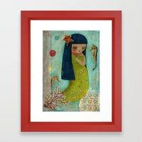 A Little Mermaid Framed Art Print