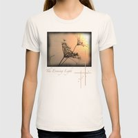 The Evening Light Womens Fitted Tee Natural SMALL