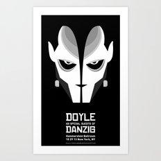 DOYLE Gig Poster Art Print