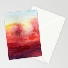 Where I End And You Begin Stationery Cards