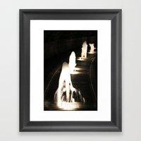 Fountains of Light Framed Art Print