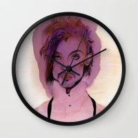 Lil Purple Prince Wall Clock