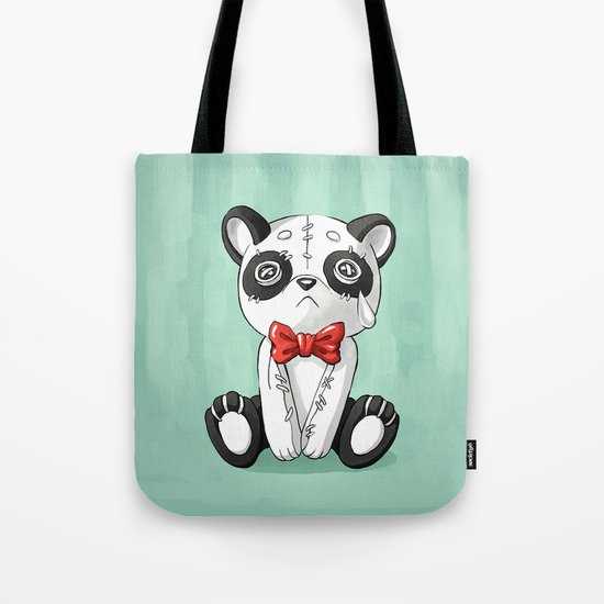 Panda Doll Tote Bag