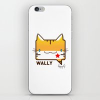 Convo Cats! Wally iPhone & iPod Skin
