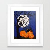 Halloween-3 Framed Art Print