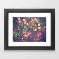 guest from japan Framed Art Print