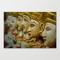 Stand Out In The Crowd Canvas Print
