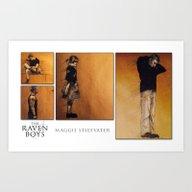 Raven Cycle Character Sk… Art Print