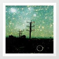 Constellations (2) Art Print