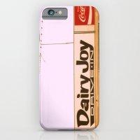 Dairy Joy ~ vintage ice cream sign/stand iPhone 6 Slim Case