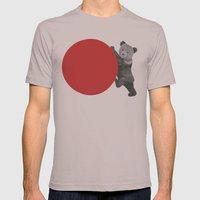 bear Mens Fitted Tee Cinder SMALL