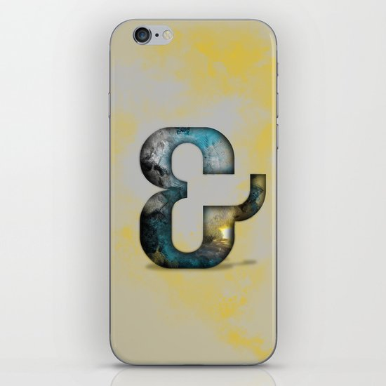 Ampersand Series - Silom Typeface iPhone & iPod Skin