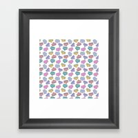 Pattern Project #44 / Un… Framed Art Print