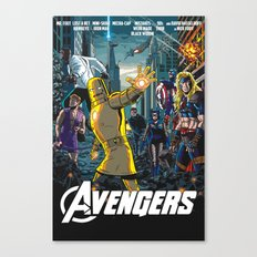 The Just the Worst Avengers! Canvas Print