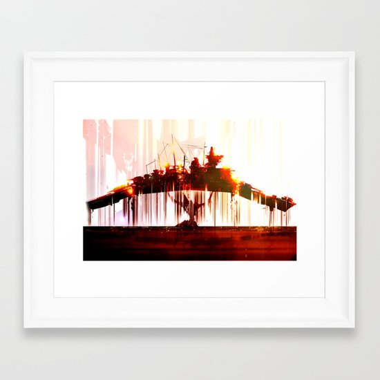 Ship Lift Framed Art Print