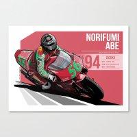Norifumi Abe - 1994 Suzuka Canvas Print