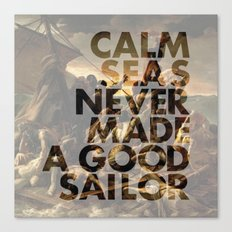 Calm Seas Canvas Print