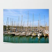 Canvas Print featuring Set Sail by KeCuddihee
